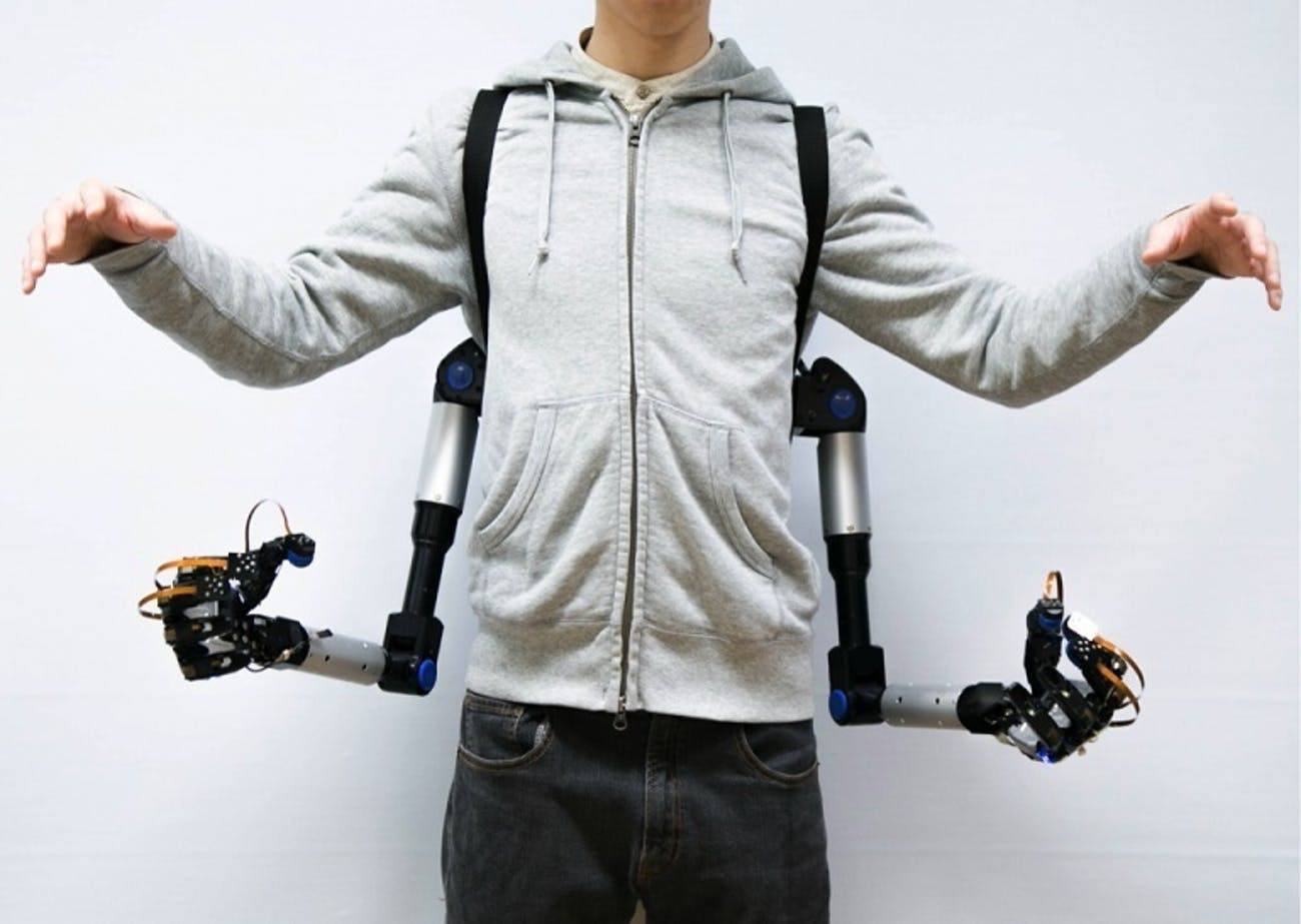 metalimbs robot arms robotic limbs arm hand cyborg