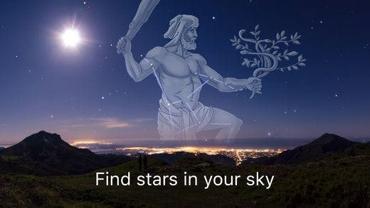 Sky Guide AR in action.