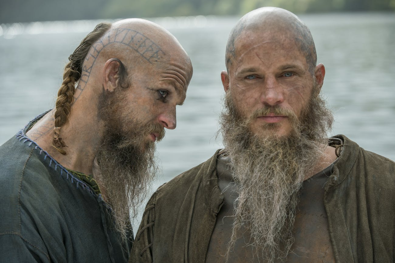 "Floki and Ragnar on 'Vikings' Season 4B, ""The Outsider"""