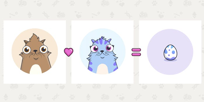 cryptokitties blockchain