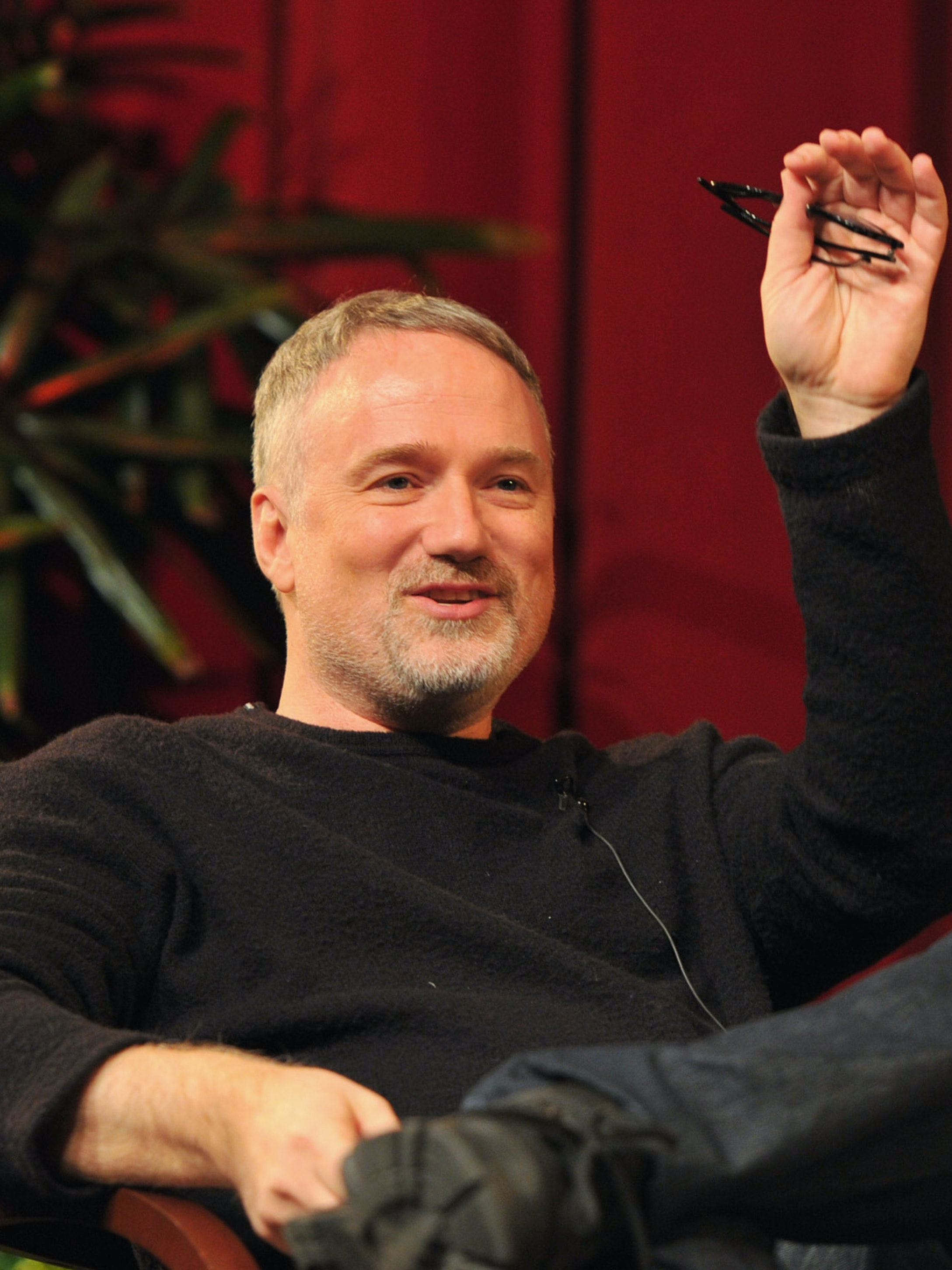 HOLLYWOOD, CA - JANUARY 28:  Director David Fincher speaks onstage at the 63rd Annual Directors Guild Of America Awards Feature Film Symposium held at the DGA on January 28, 2012 in Hollywood, California.  (Photo by Alberto E. Rodriguez/Getty Images for DGA)