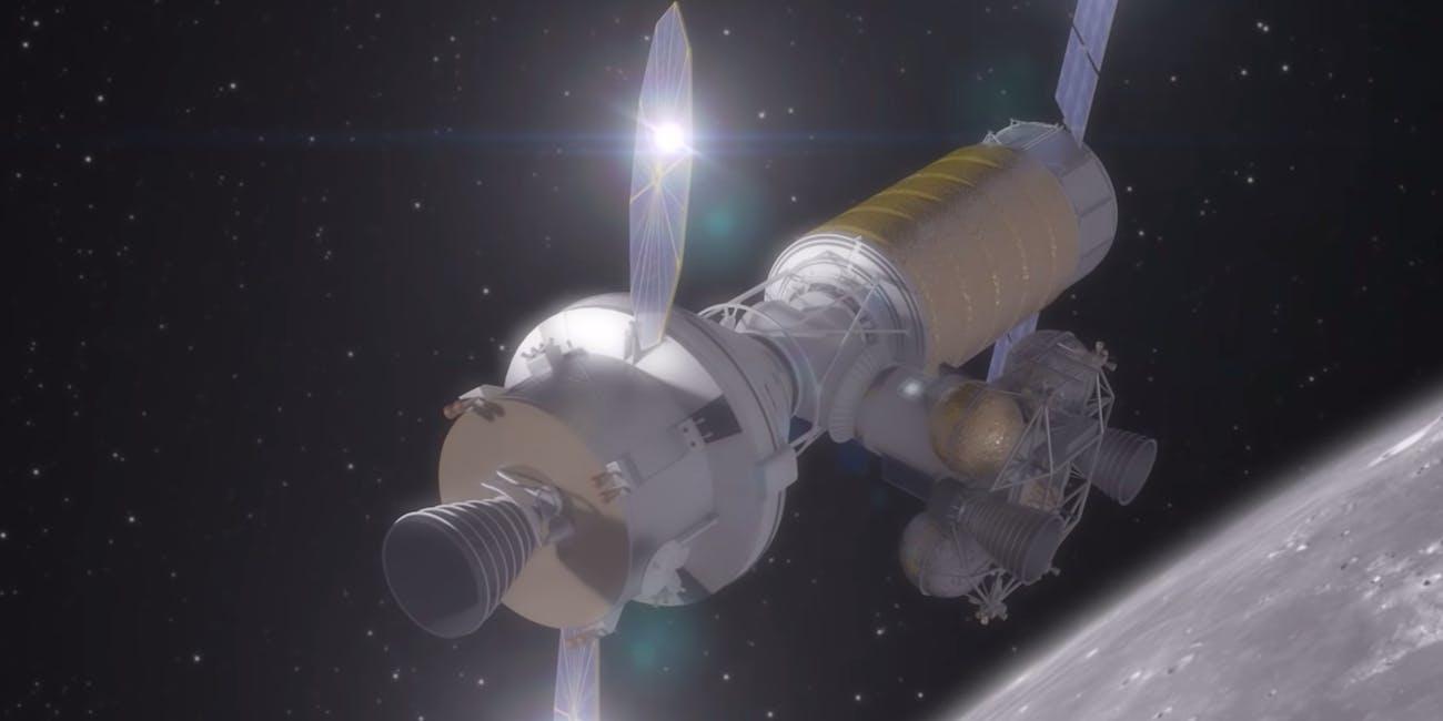nasa lunar base concept