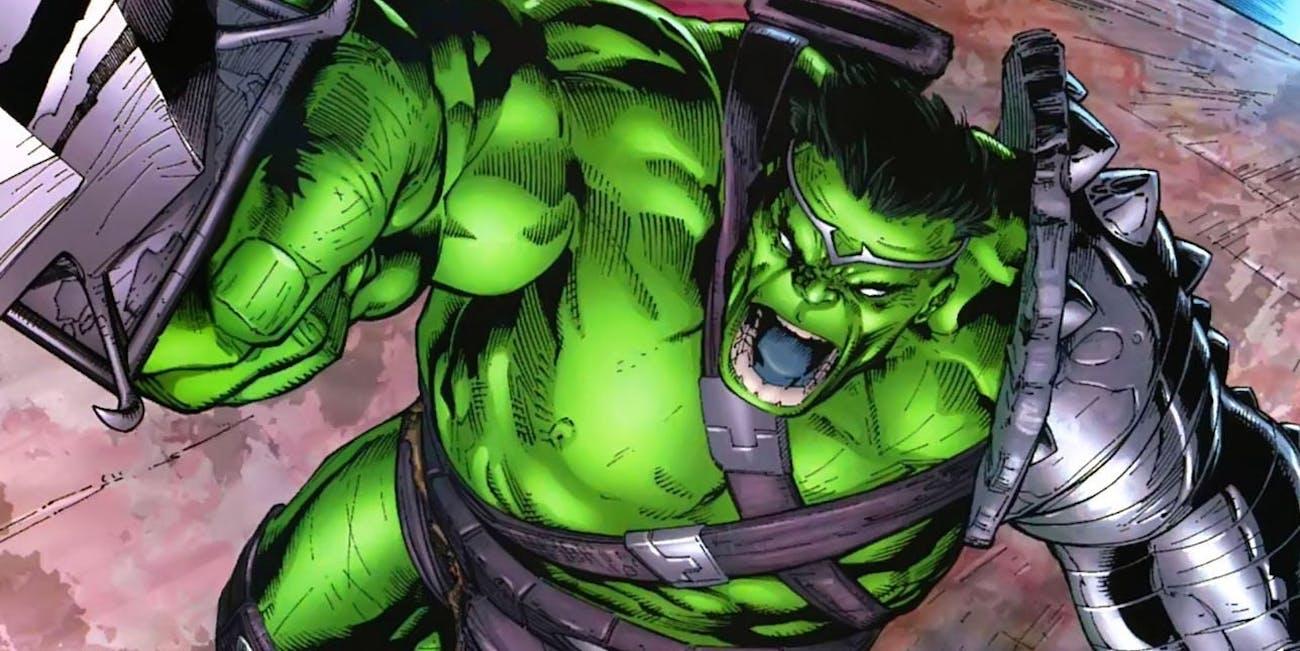 Gladiator Hulk from Marvel Comics