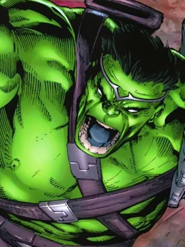 Gladiator Hulk from Marvel Comics
