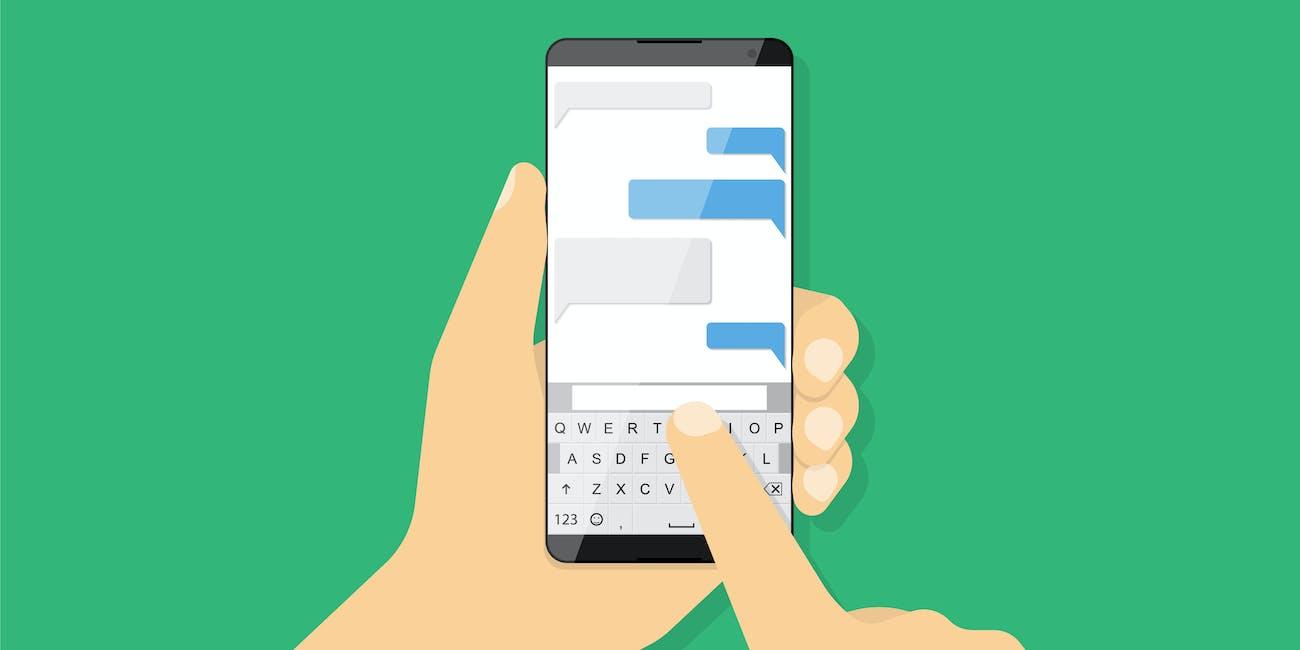 Text, phone