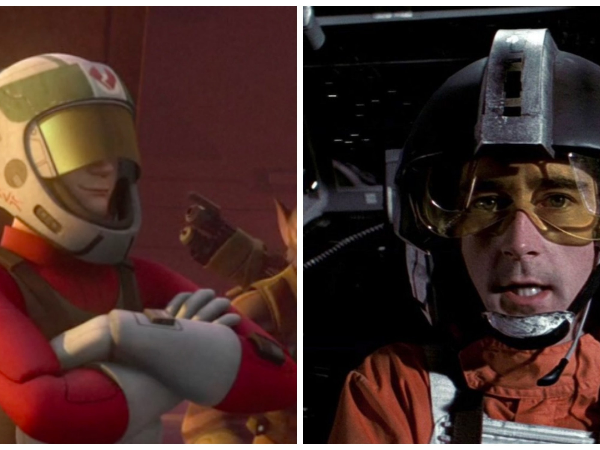 Wedge Antilles is a Slacker Pilot in 'Star Wars Rebels'