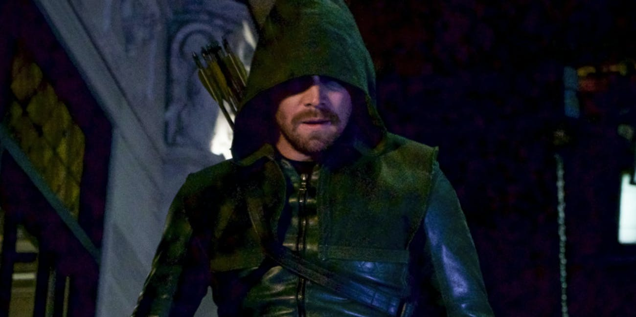 Green Arrow Stephen Amell