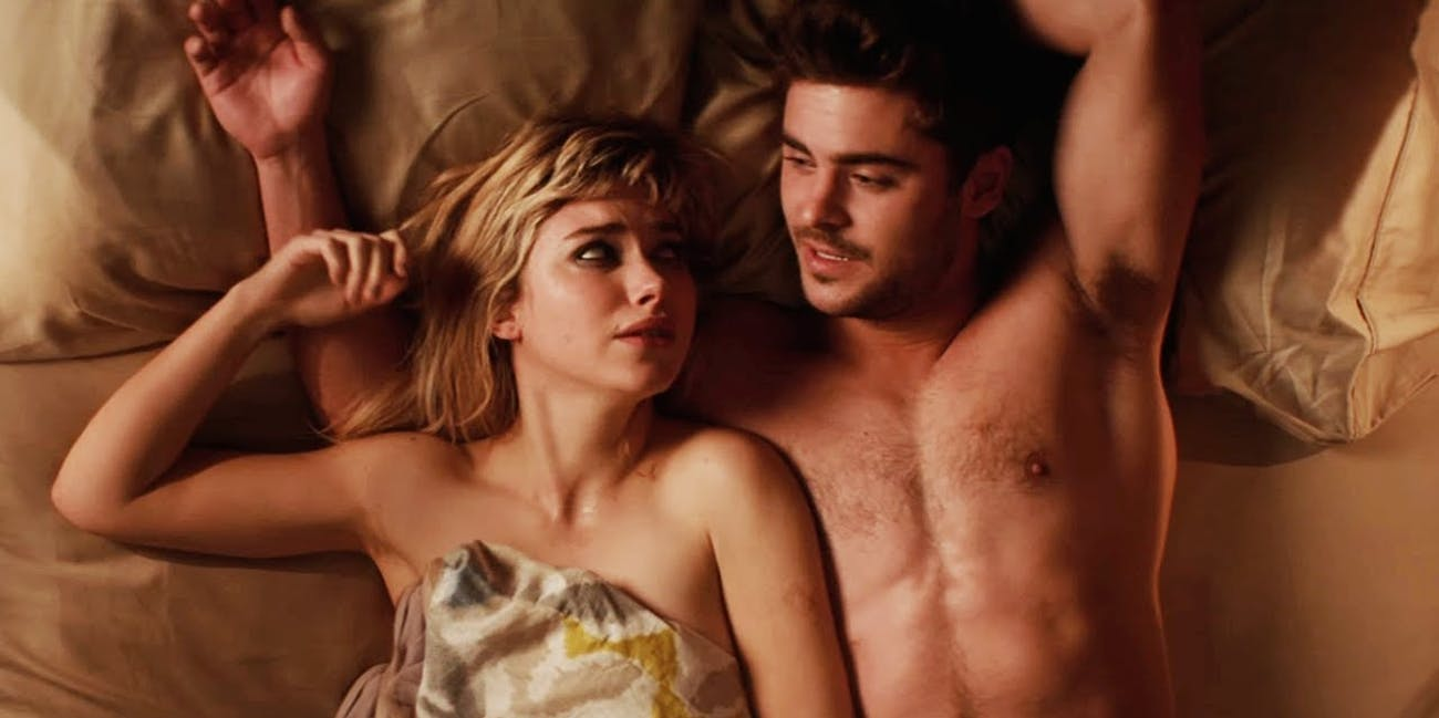 sex bed zac efron