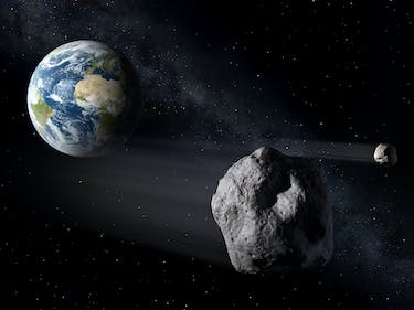 A Surprise Asteroid Just Zipped Between the Earth and the Moon
