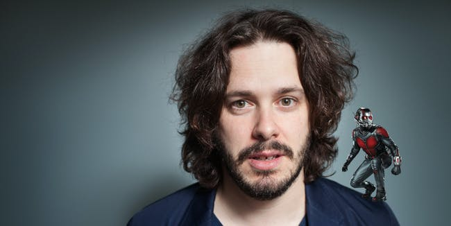 Director Edgar Wright originally left 'Ant-Man' well into the development process.