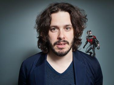 Director Edgar Wright originally left 'Ant-Man' well into the development process.