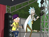 Rick and Morty are no strangers to music festivals.