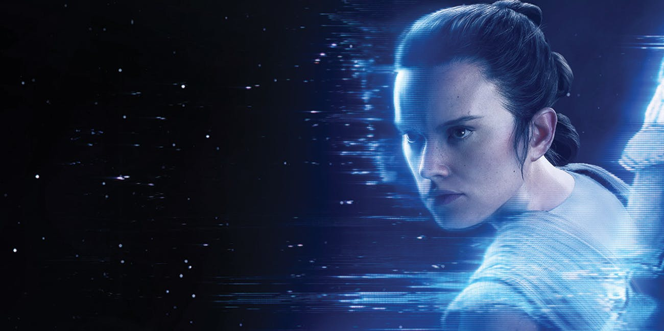 Rey's blue lightsaber in 'Battlefront II' might not be the one you think it is.
