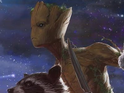 Teen Groot might have a new role model somewhere in the Avengers roster.