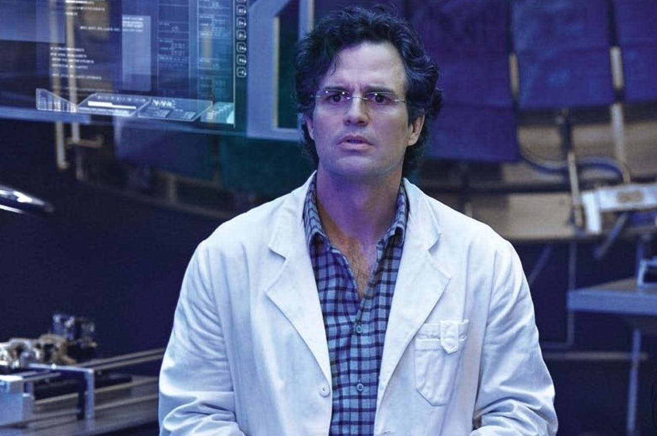 Peter would appreciate the science nerd that is Bruce Banner.