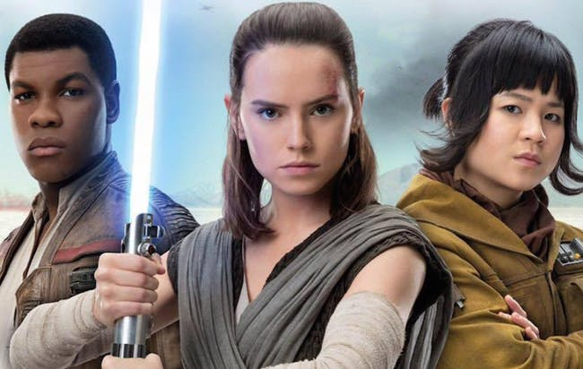 The new heroes of Star Wars
