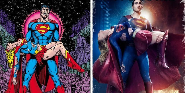 Supergirl's 'Crisis on Infinite Earths' reference was totally overblown.