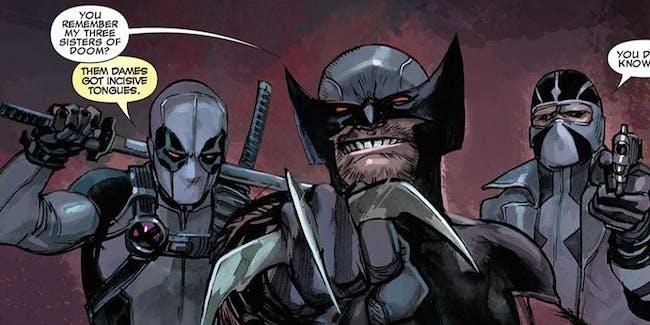 Deadpool Wolverine X-Force