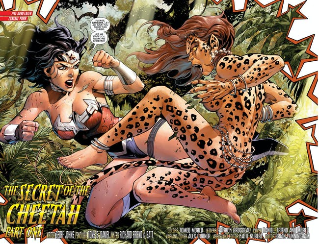 Cheetah Wonder Woman DC