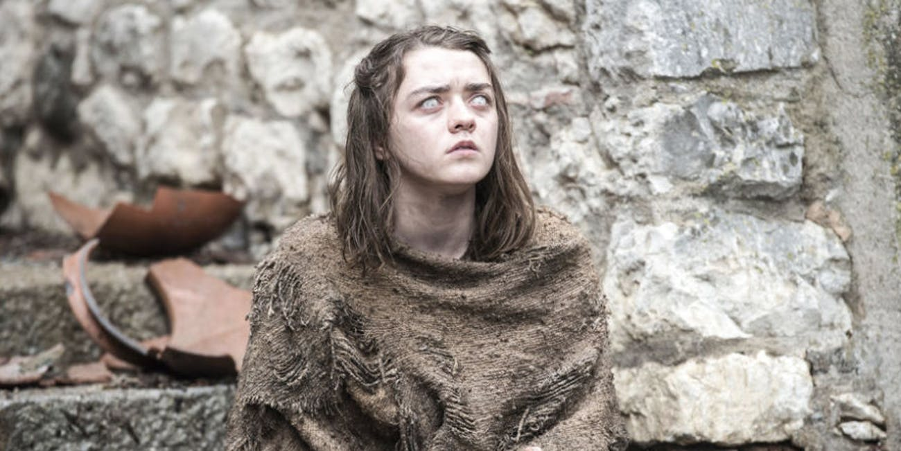 Maisie Williams in 'Game of Thrones'