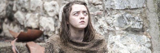 Maisie Williams in 'Game of Thrones'