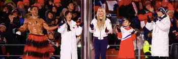 Winter Olympics Closing Ceremony Shirtless Tongan