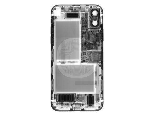 iphone x inside back panel
