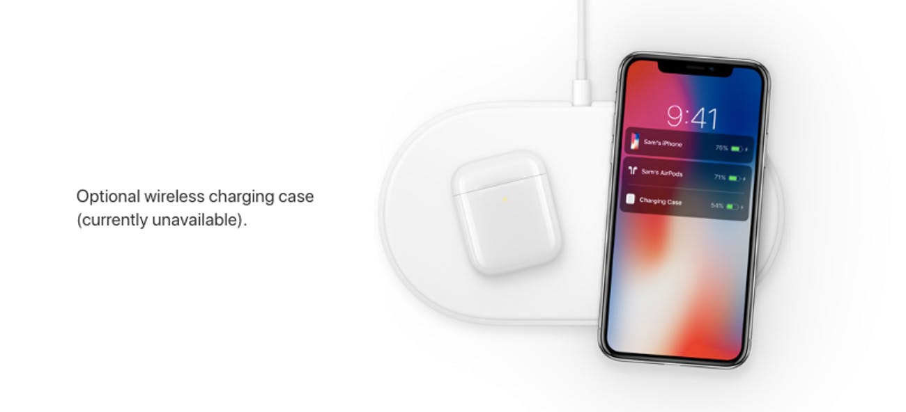 airpod wireless charging case