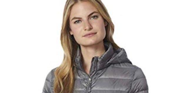 32 DEGREES Womens Ultra Light Weight Down Packable Jacket