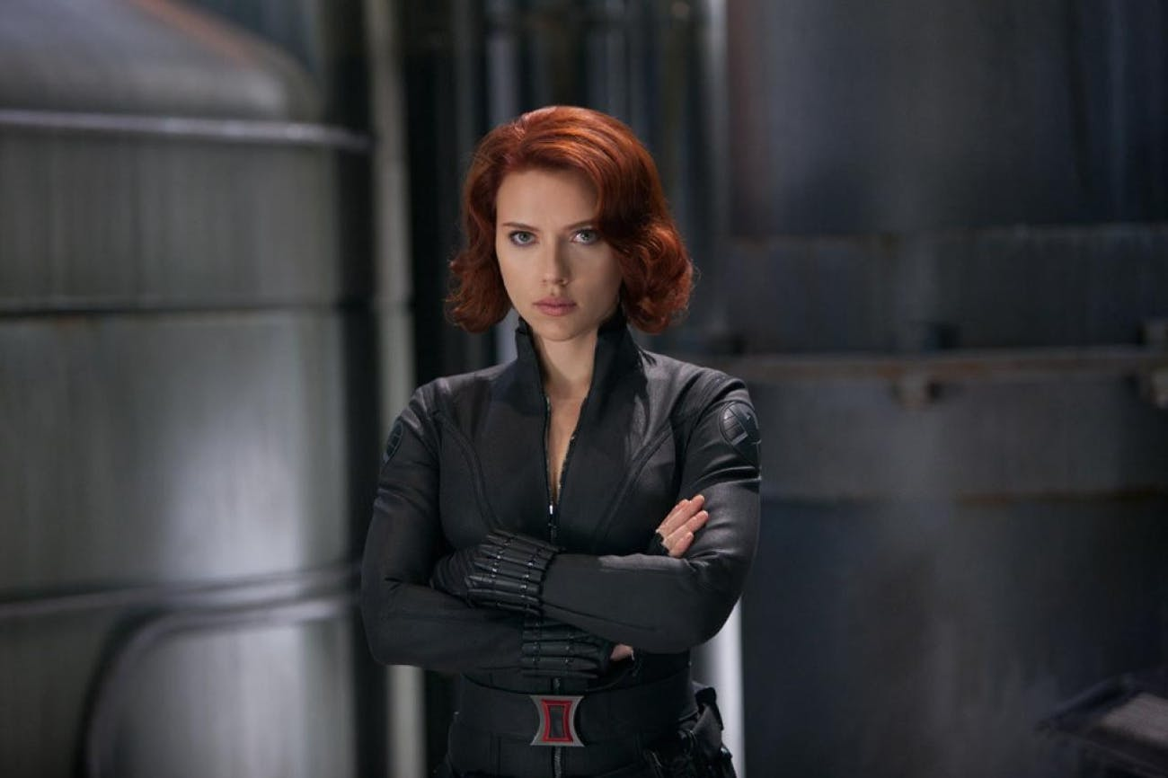 Black Widow in 'The Avengers'