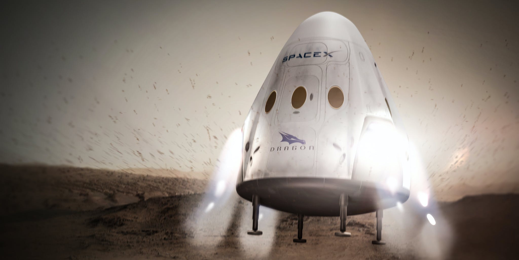 spacex red dragon nasa