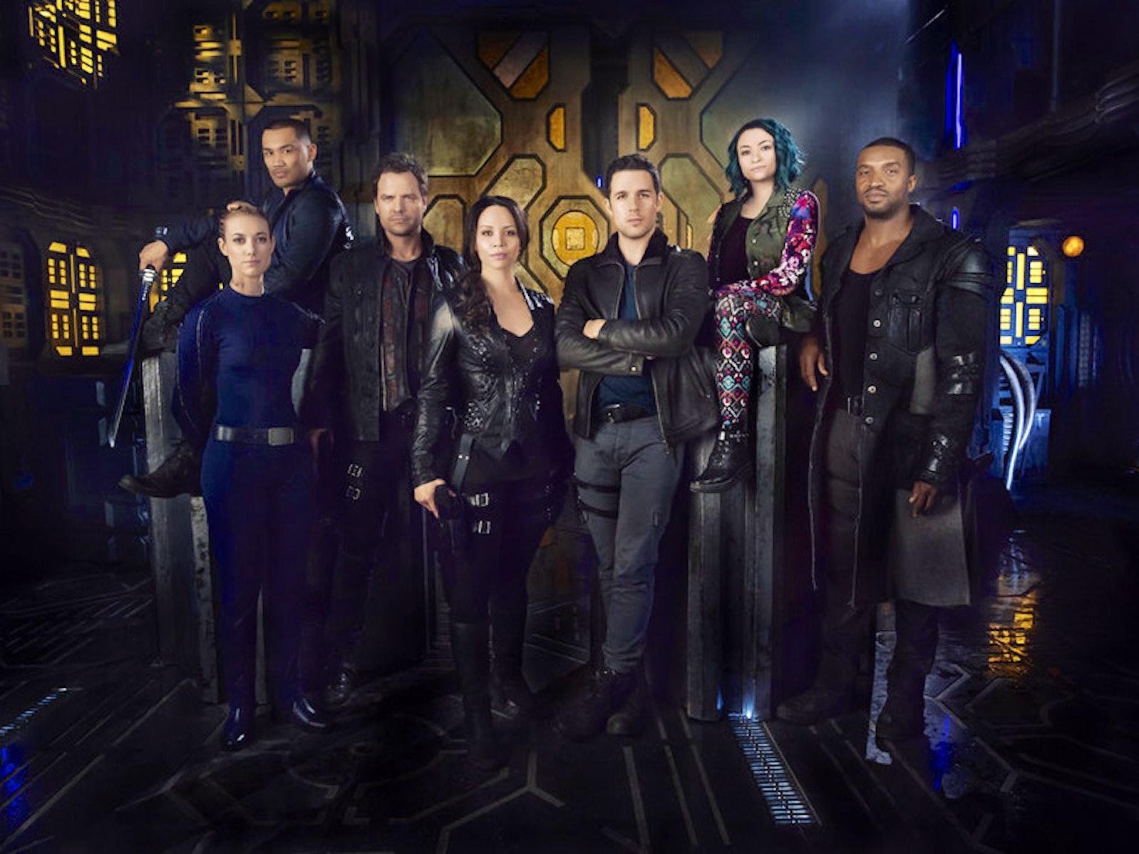'Dark Matter' is Basically a 'Mass Effect' TV Show