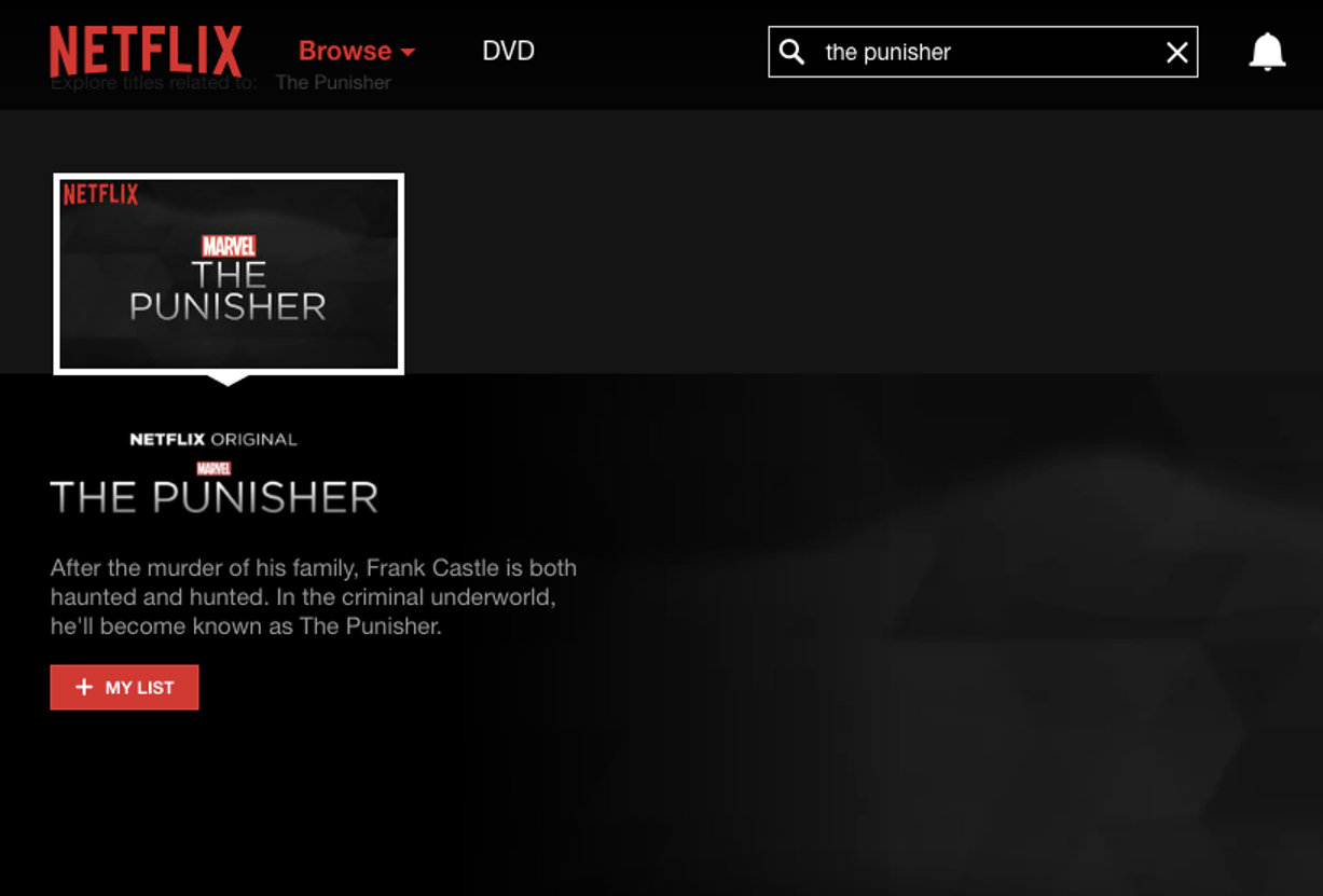 Frank Castle gets his own show, but when will we get to see it?