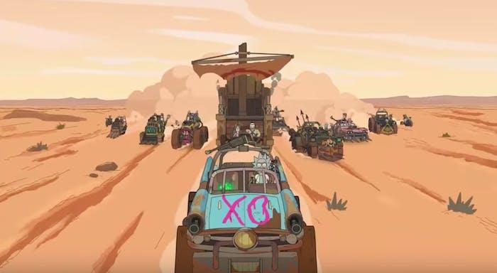 'Mad Rick: Fury Road' or 'Mad Max: Fury Rick'?