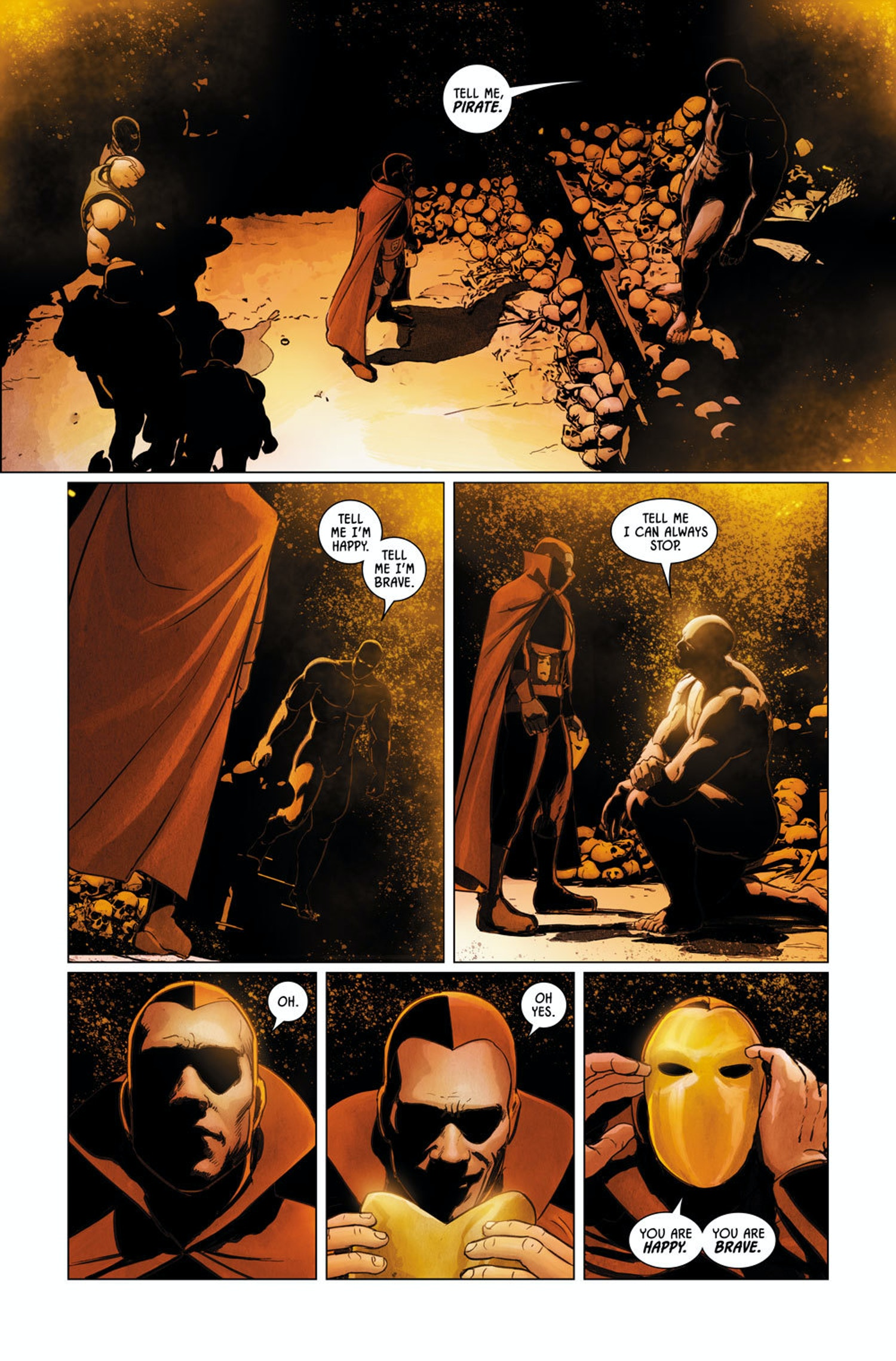 Bane and Psycho Pirate in Batman #9