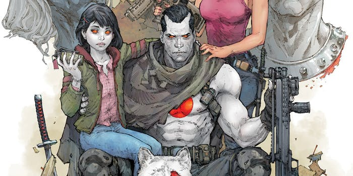 Bloodshot Salvation 12 Jeff Lemire