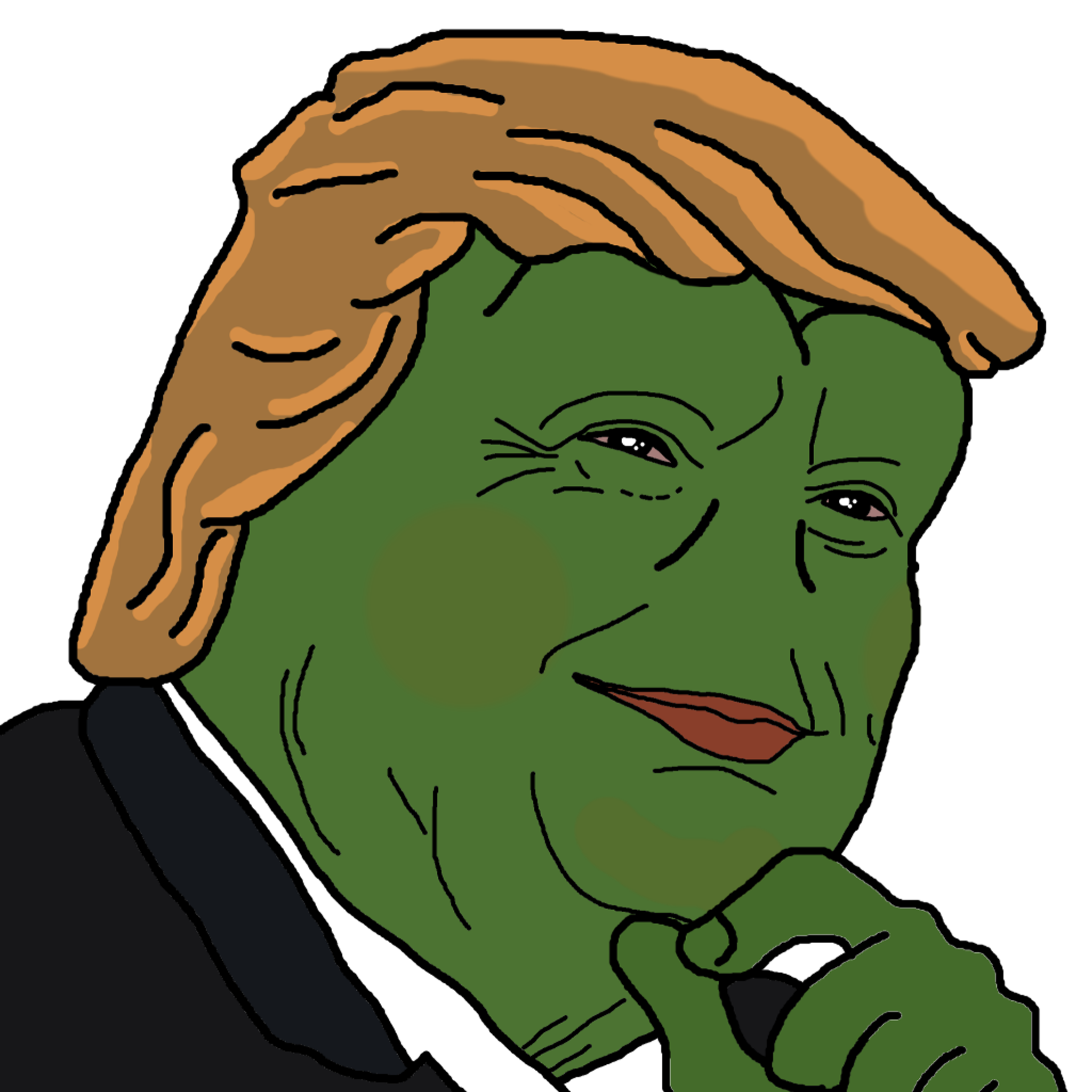 """This Rare Pepe offers """"broad-shouldered"""" leadership."""