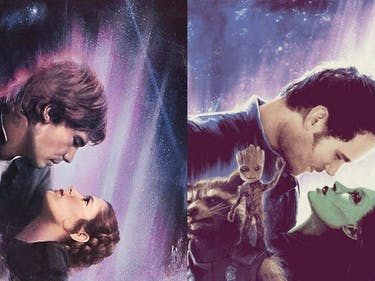 Poster Gives 'Guardians of the Galaxy' the 'Star Wars' Treatment