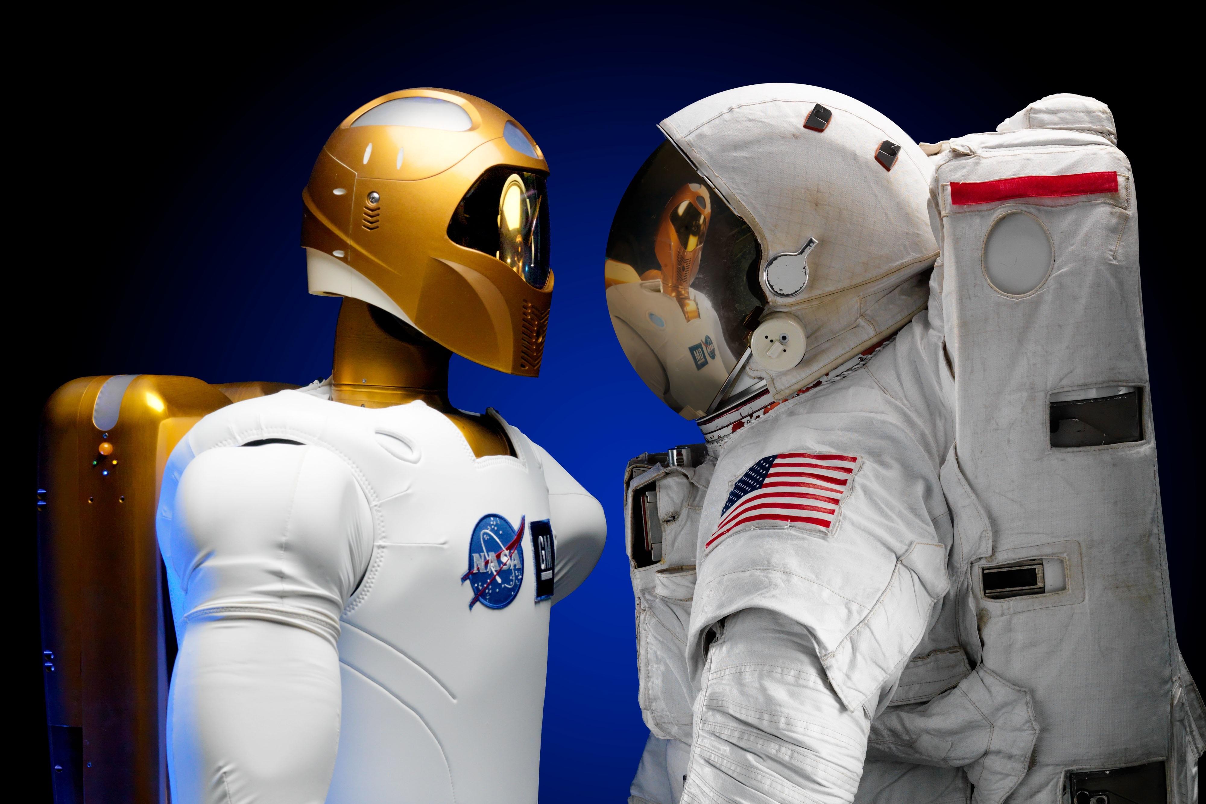 Robonaut, meet astronaut.