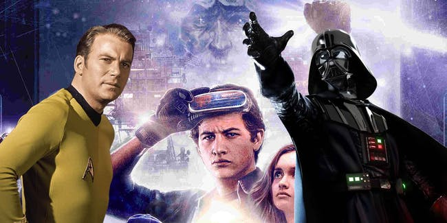 'Star Trek' vs. 'Star Wars' in the dominance for 'Ready Player One' Easter Eggs.