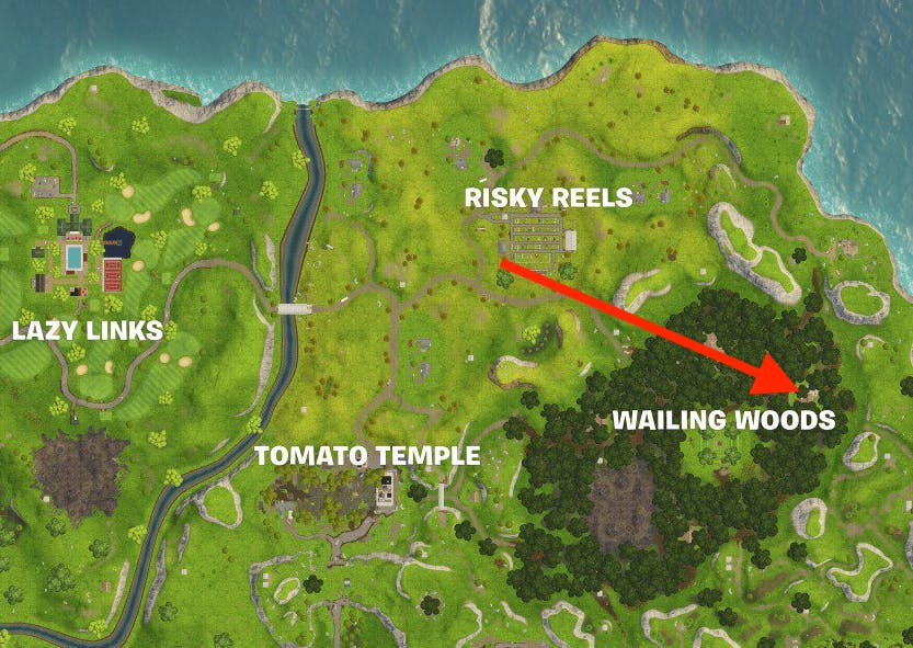 Fortnite Week 3 Secret Battle Star Loading Screen Location And Map