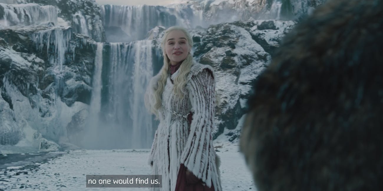 Emilia Clarke in 'Game of Thrones' Season 8