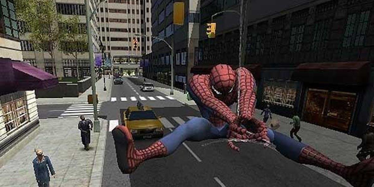 Spider-Man 2: The Movie Videogame