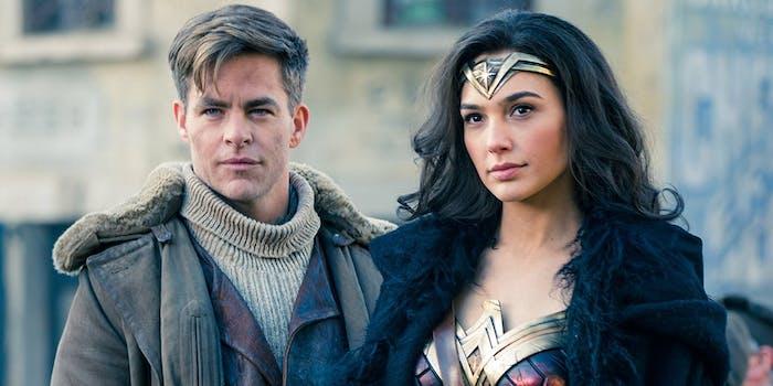 Wonder Woman 2 Chris Pine Steve Trevor