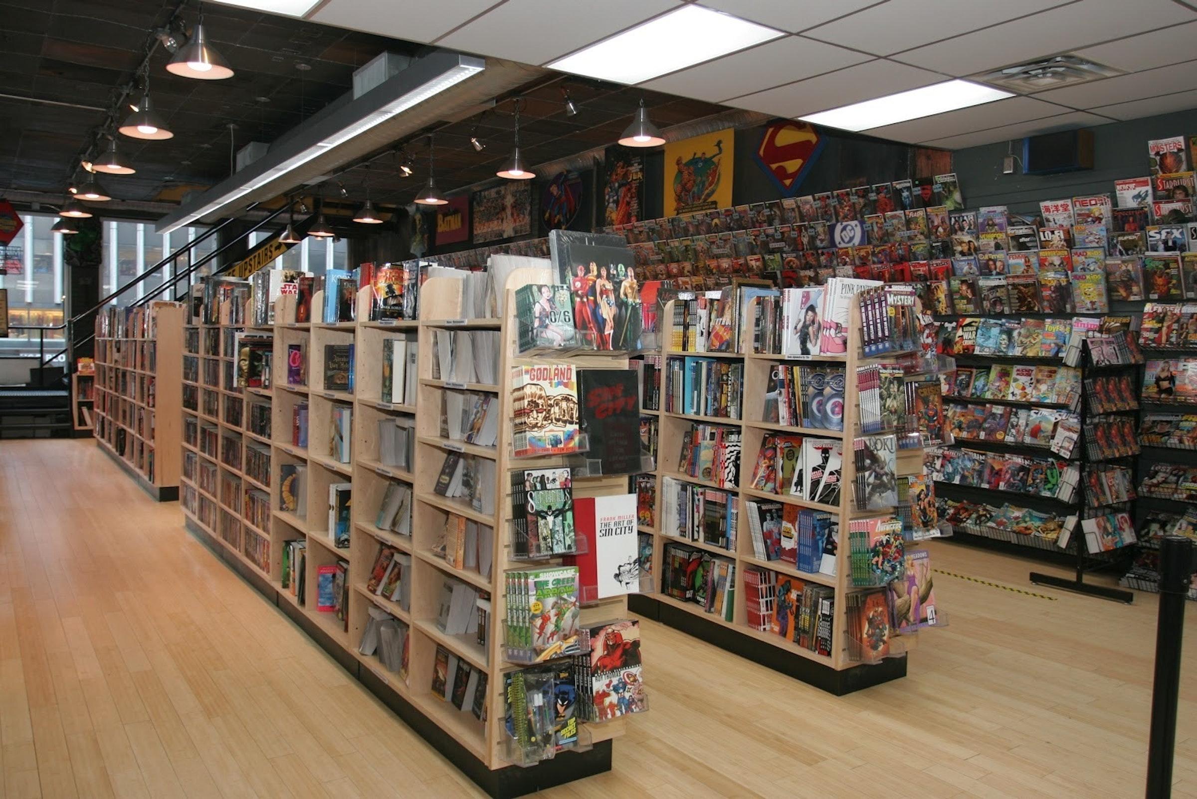 Midtown Comics in Manhattan