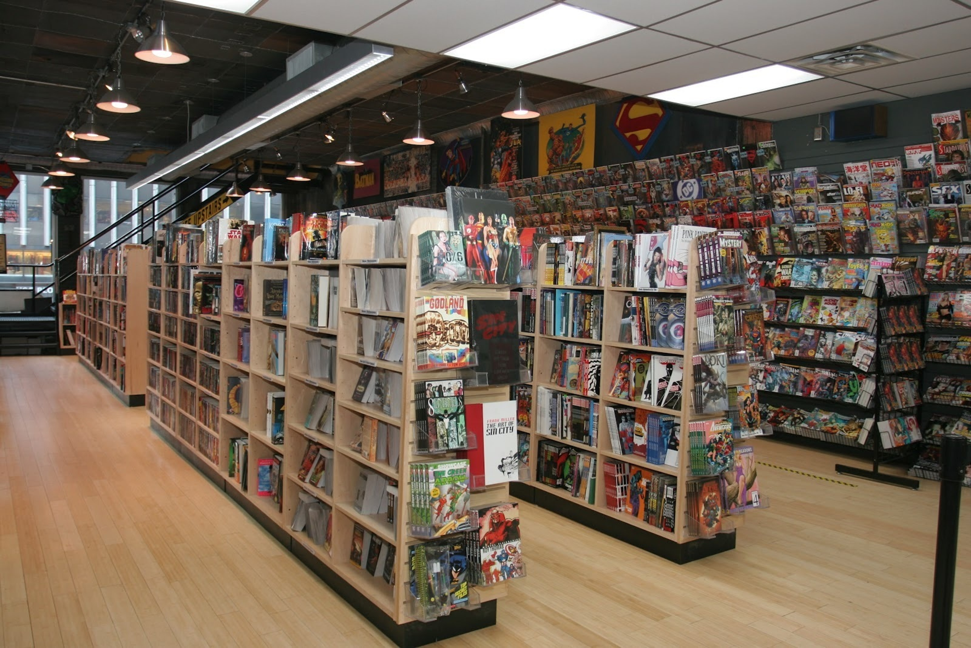 Midtown Comics in Manhattan