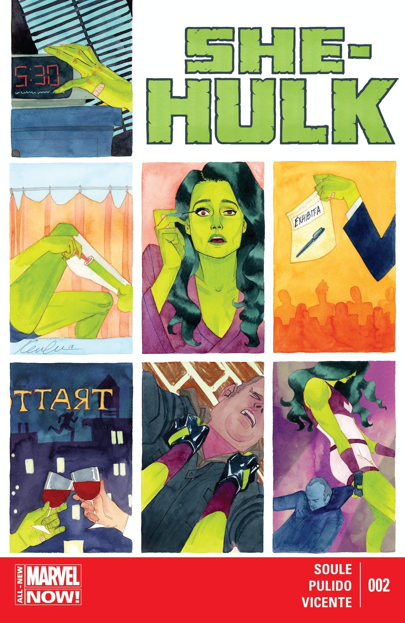 She-Hulk Issue 2 Cover