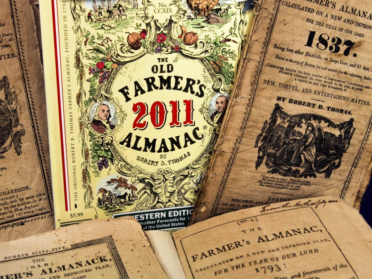 The Old Farmer's Almanac Is Full of Wacky 2017 Predictions