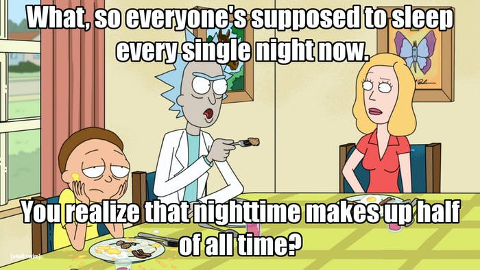 Why is it that we have to sleep so much anyway?