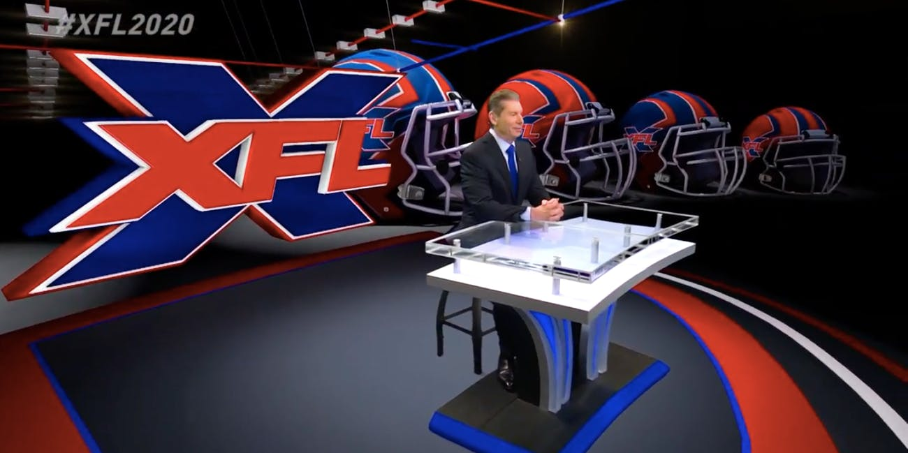 vince mcmahon xfl football sports